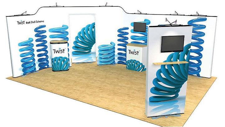 Twist Banner Stand