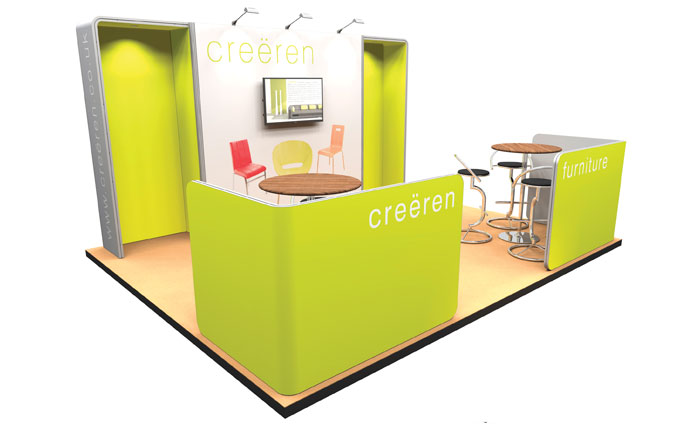 Modular Exhibition Stands Zero : Modular exhibition stands cipher graphics