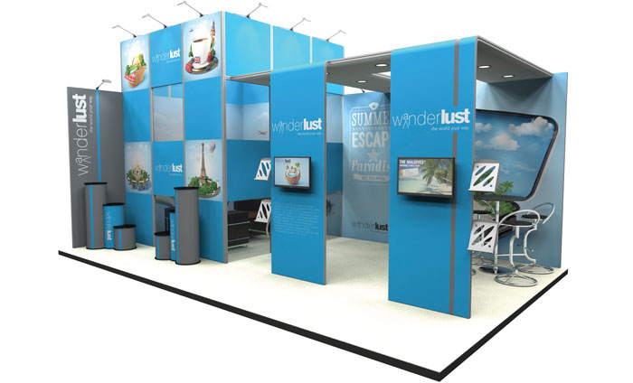 Modular Exhibition Stand Yet : Modular exhibition stands cipher graphics