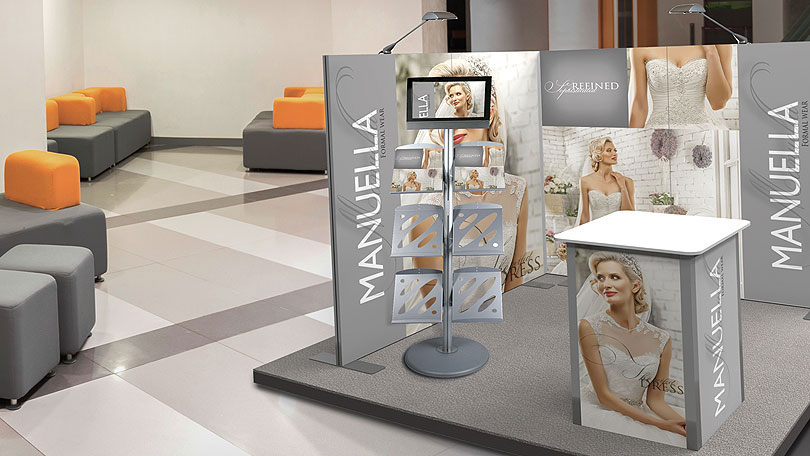 Exhibition Stand Design Vector : Vector lite modular display system cipher graphics