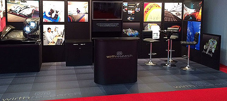 Exhibition flooring