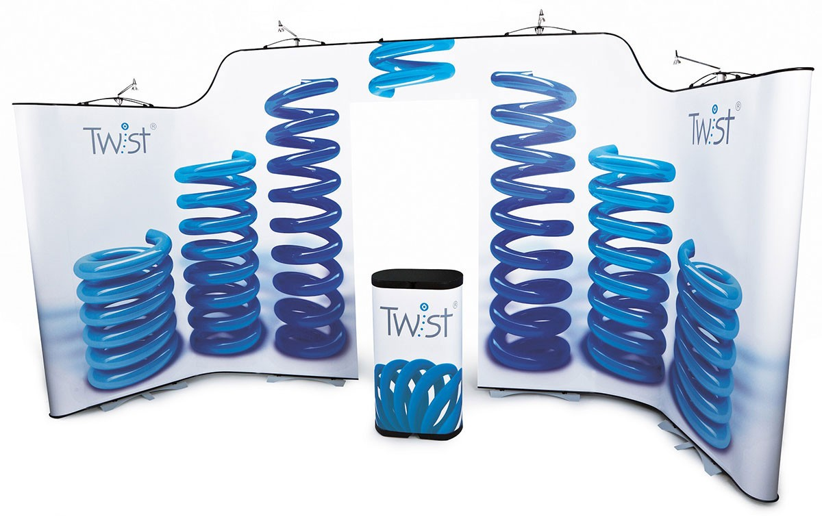 twist display system