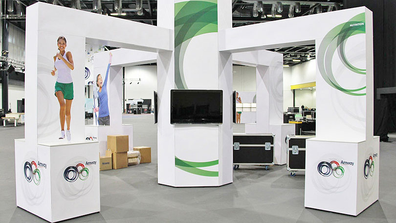 Modular Exhibition Display Stands : T modular display system