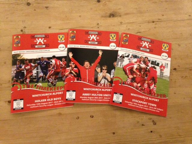 Printed Football Programme