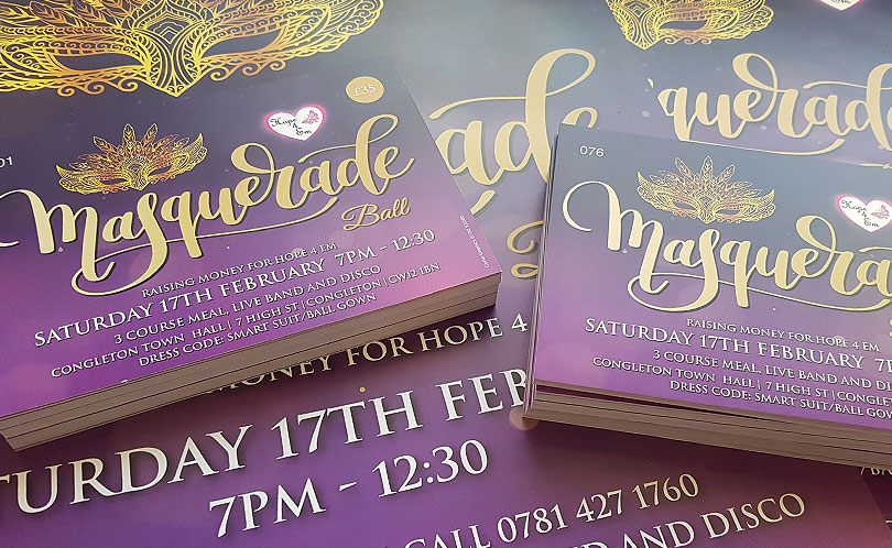 Numbered Masquerade Ball Tickets