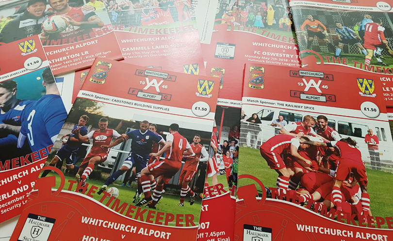 Match day programmes